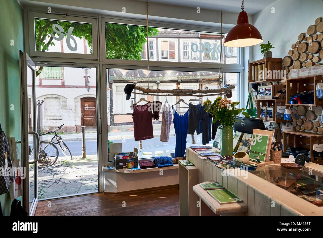 Braunschweig Outlet Jojeco A Shop Selling Fair Trade Fashion In The Magni Quarter Of