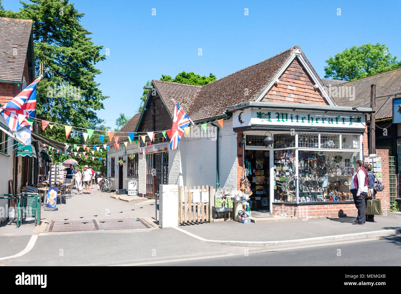 Bicycle Shop Ringwood Burley Uk Stock Photos And Burley Uk Stock Images Alamy