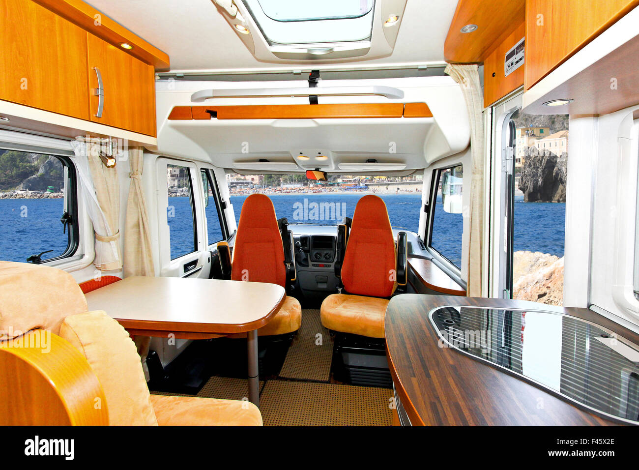 Innenausstattung Wohnmobil Caravan Interior Stockfotos And Caravan Interior Bilder Alamy