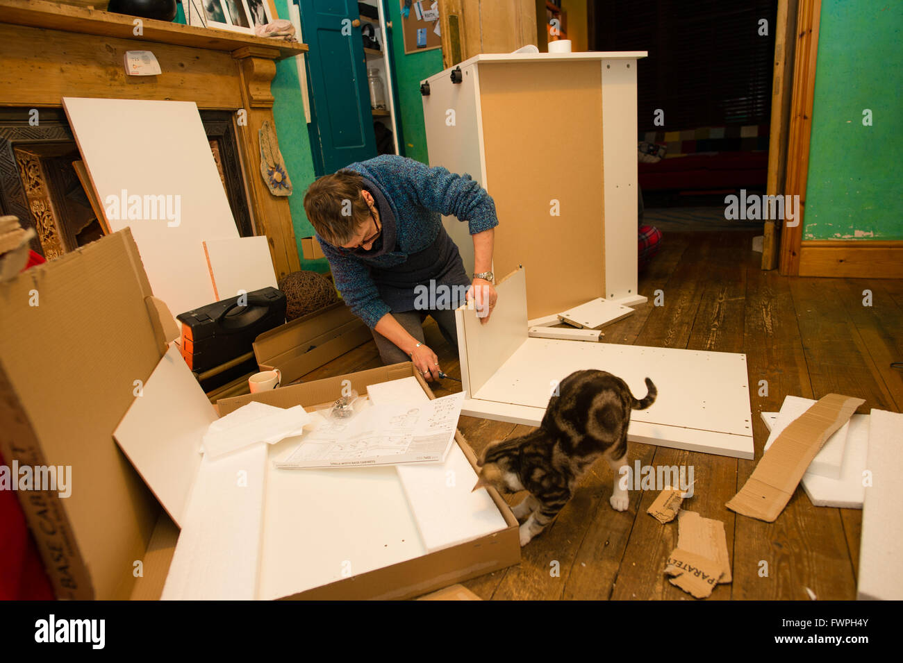 Ikea Küche Selbstmontage Units Stockfotos And Units Bilder Alamy