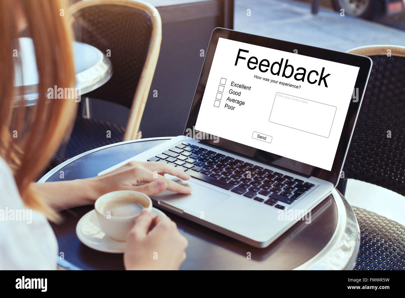Positive Bewertung Schreiben Feedback Stockfotos And Feedback Bilder Alamy