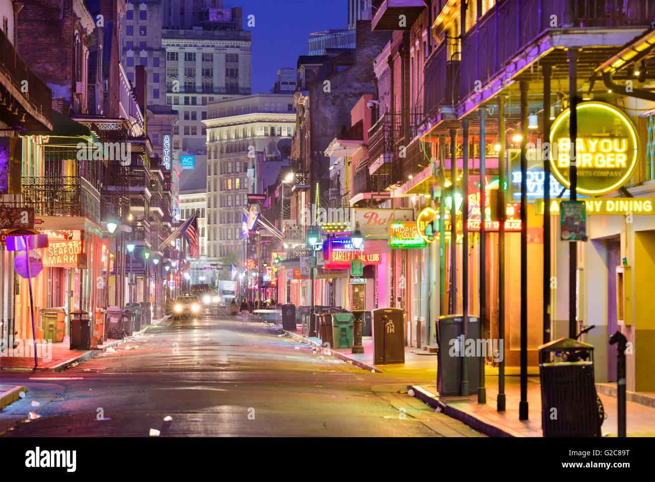Kreolische Küche New Orleans Louisiana Usa Stockfotos & Louisiana Usa Bilder - Alamy