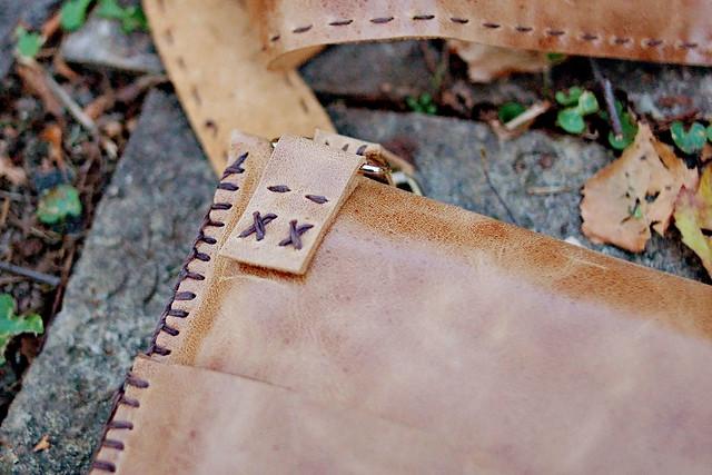 hand sewn laptop bag