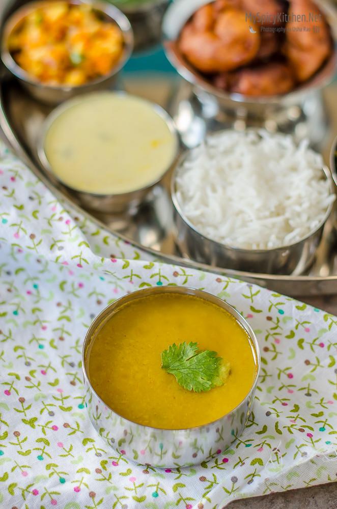 Varan, Dal, Maharashtrian Dal, Maharashtrian Thali, Maharashtrian Food, Maharashtrian Cuisine,