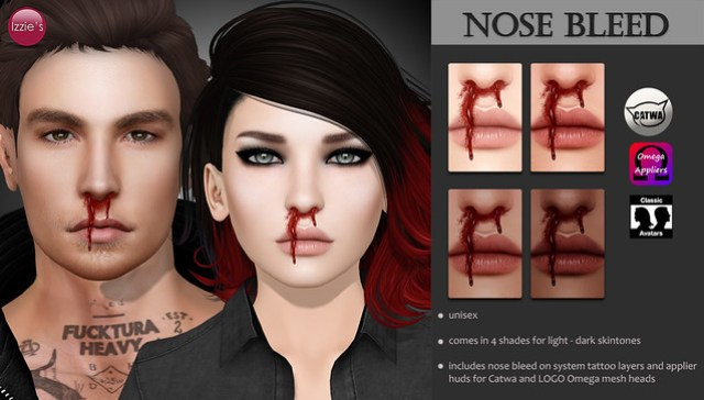 Nose Bleed (Body Art II Hunt)