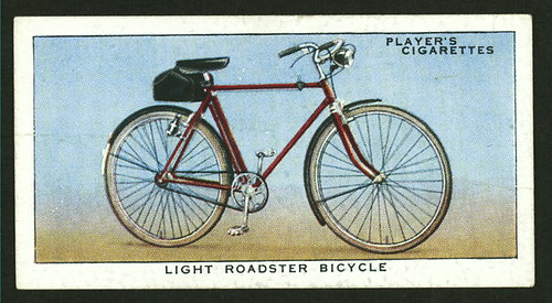 Player Cigarette Cards: Light Roadster Bicycle
