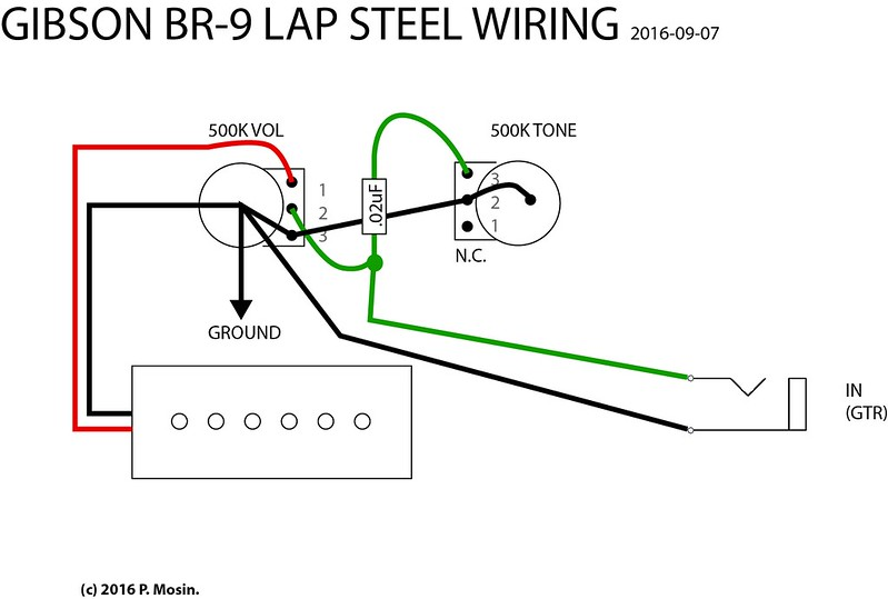 lap steel guitar wiring home recording forums
