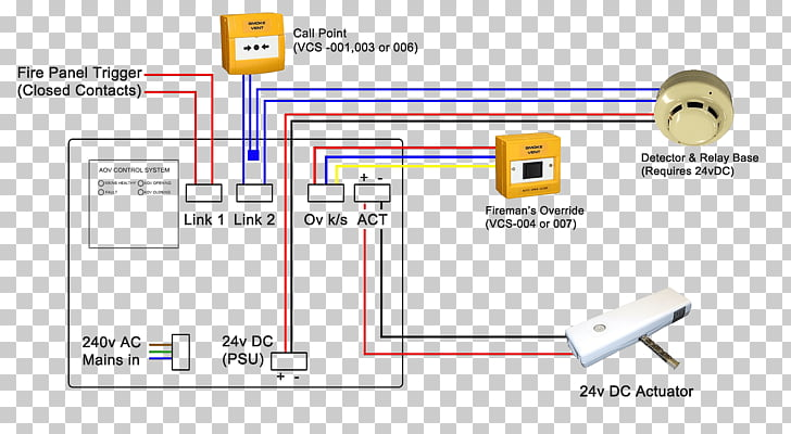 Wiring diagram Smoke detector Fire alarm system Electrical Wires
