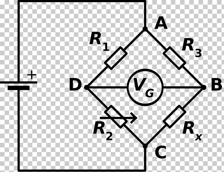 Wheatstone bridge Circuit diagram Bridge circuit Wiring diagram