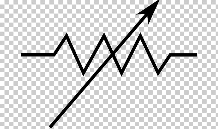 Electronic symbol Potentiometer Resistor Wiring diagram Schematic