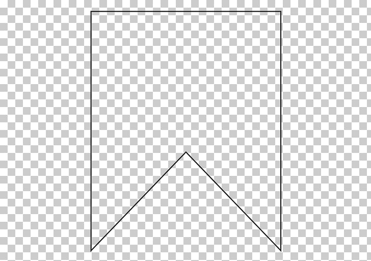 Bunting Flag Banner Template Paper, Flag, double edge pennant
