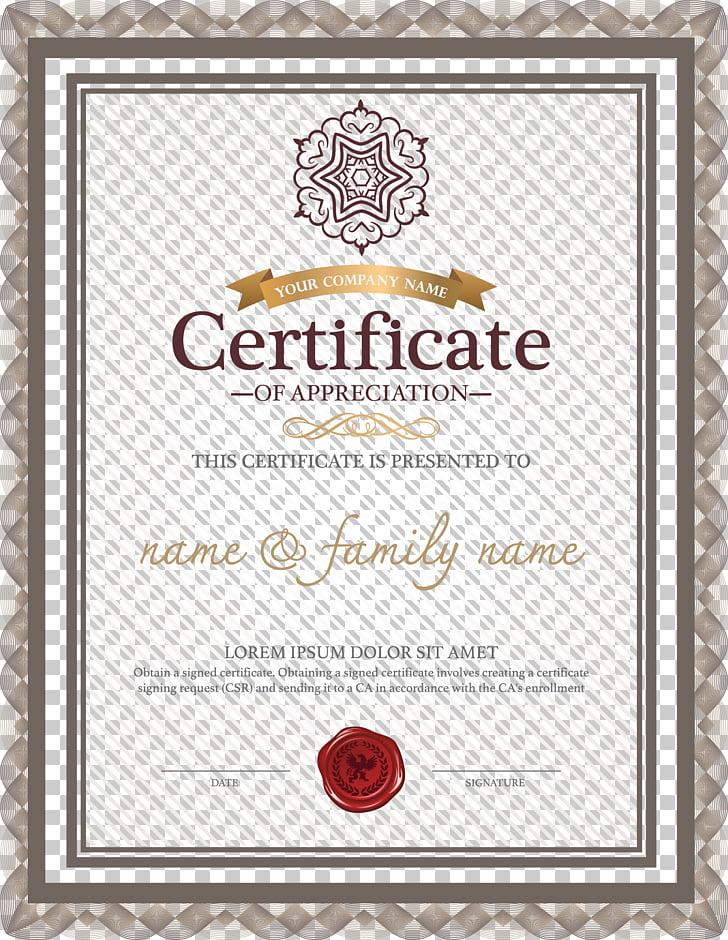 Template Academic certificate Résumé Microsoft Word, European