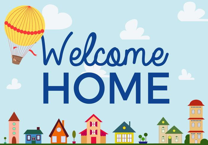 Free Welcome Home Vector Pack ai file free graphics UIHere