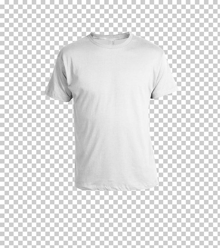 T-shirt Polo shirt Clothing Sweater, T Shirt Templates, white crew