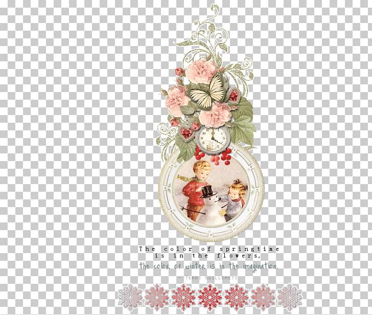 둥근액자 Frames Christmas ornament, winter-kids PNG clipart free