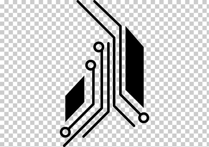 Electronic circuit Electronics Computer Icons Wiring diagram Printed