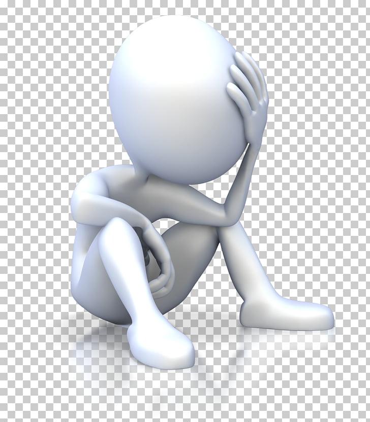 Stick figure PowerPoint animation , stress, man sitting cliaprt PNG