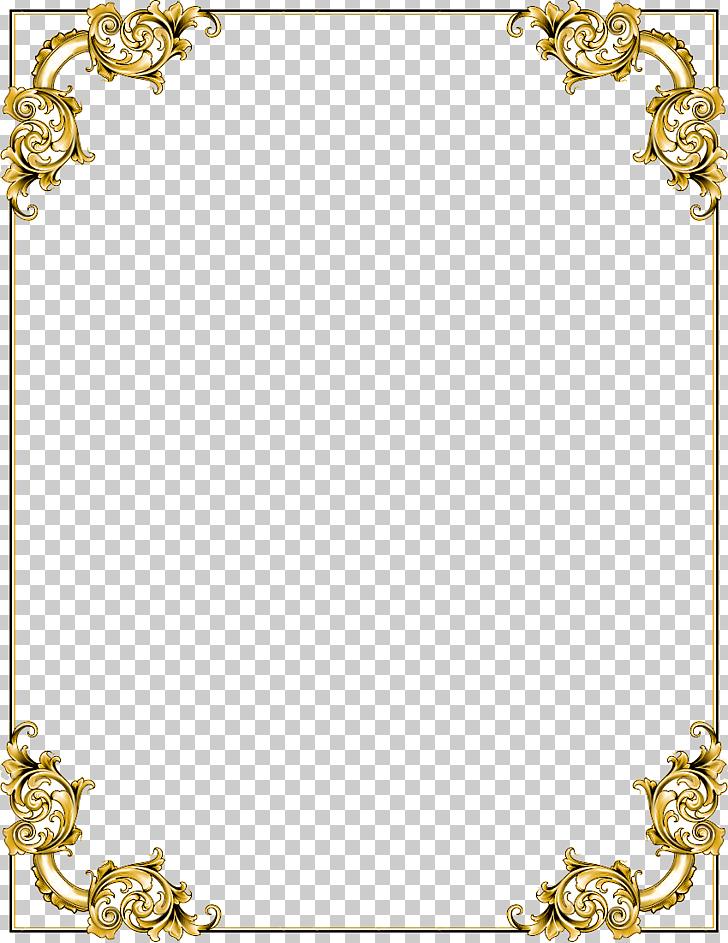 Frame , Gold Border Frame Transparent , gold floral boarder