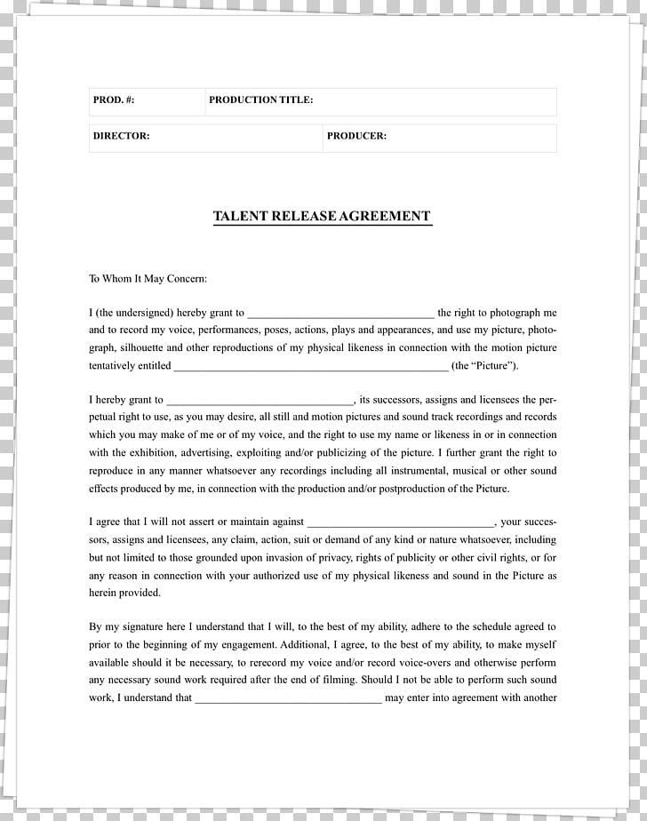 Operating agreement Contract Document Legal release Form, actor PNG