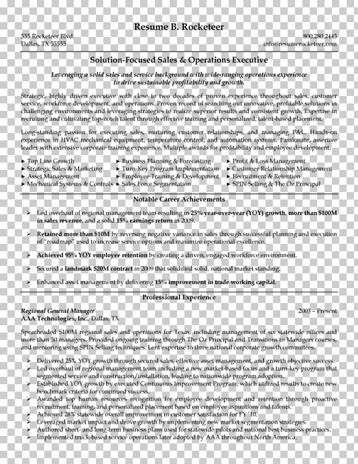 Résumé Executive summary Template Top Notch Executive Resumes