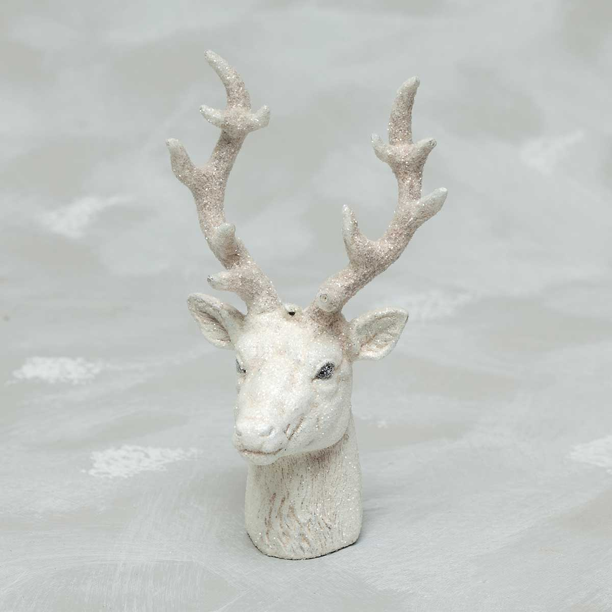 White Porcelain Deer Head New Zia Bella Fashions Fashion Jewelry Necklace