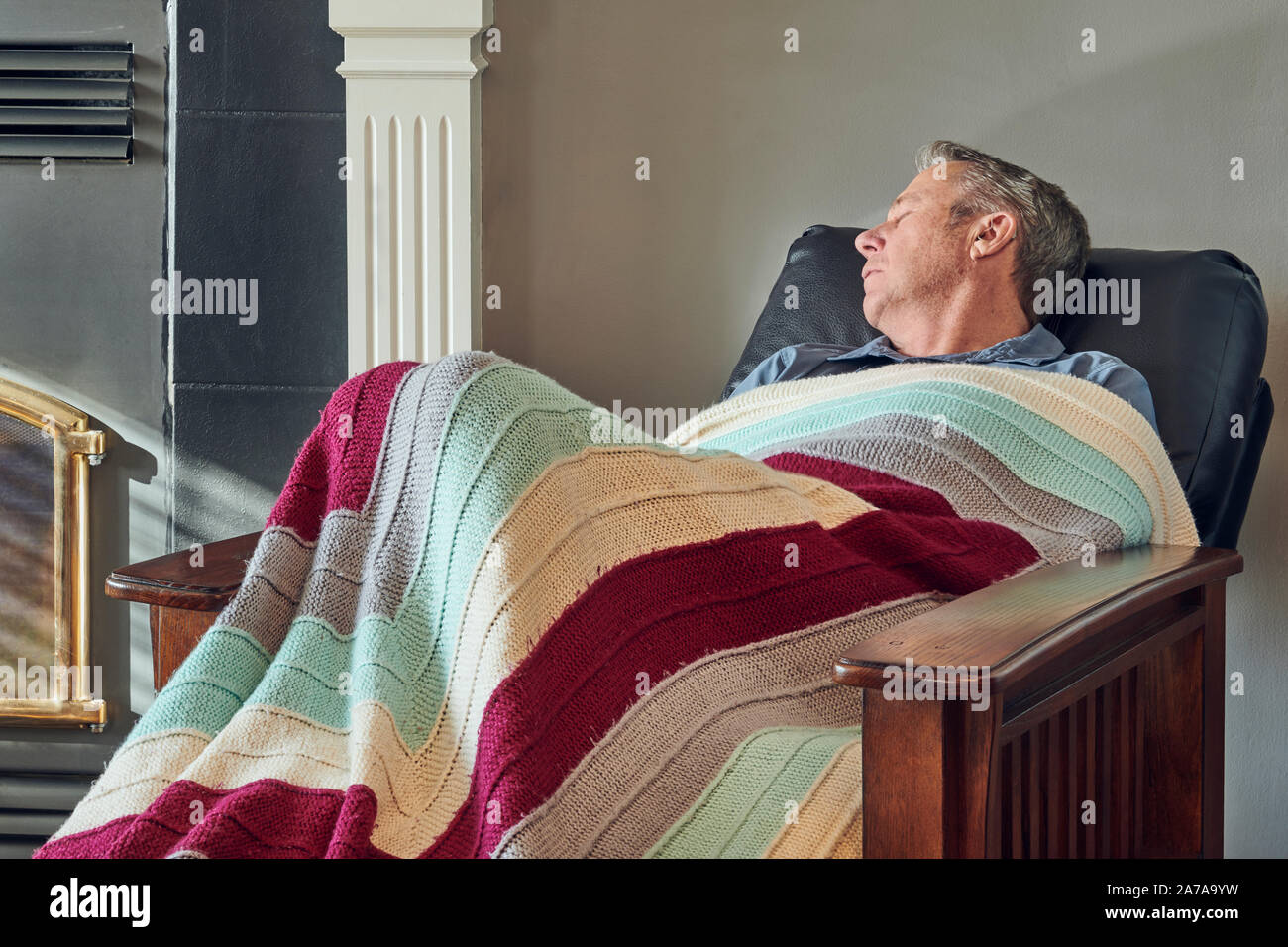 Old Recliner Chair High Resolution Stock Photography And Images Alamy