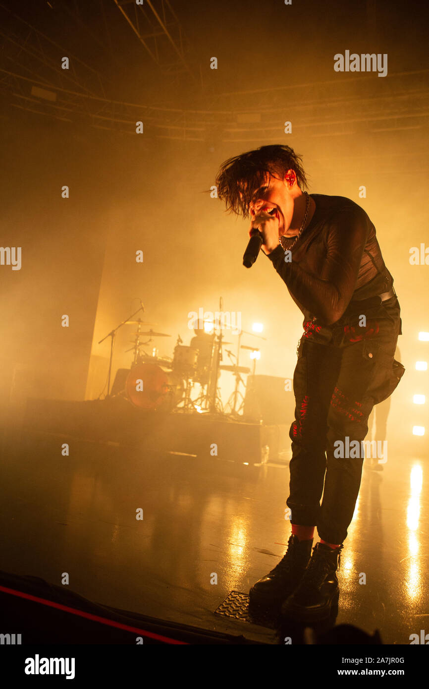 Yungblud Dominic Richard Harrison In Concerto Al Fabrique Milano Foto Di Davide Merli Per Alamy Stock Photo Alamy