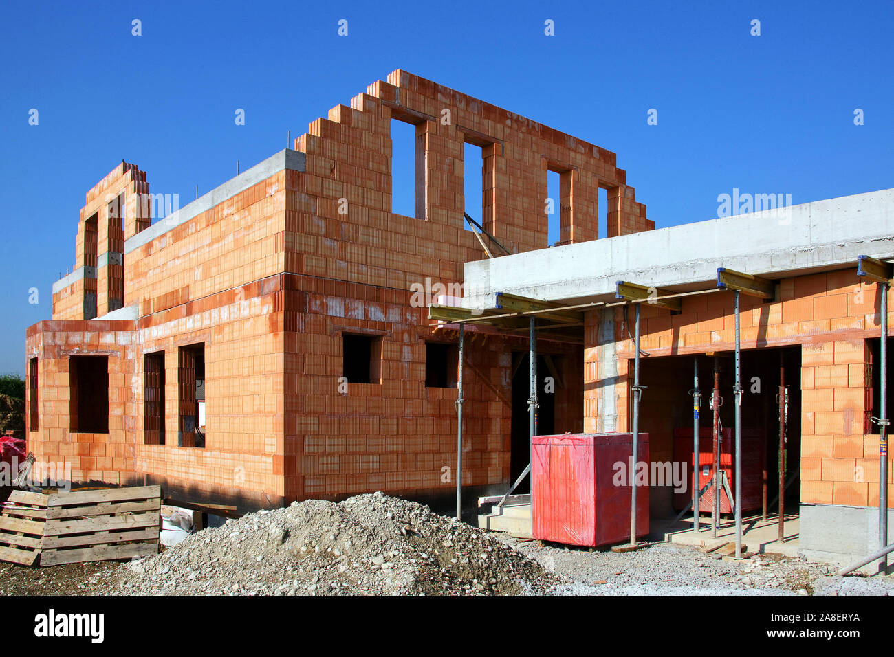 Eigenheim Baustelle High Resolution Stock Photography and Images - Alamy