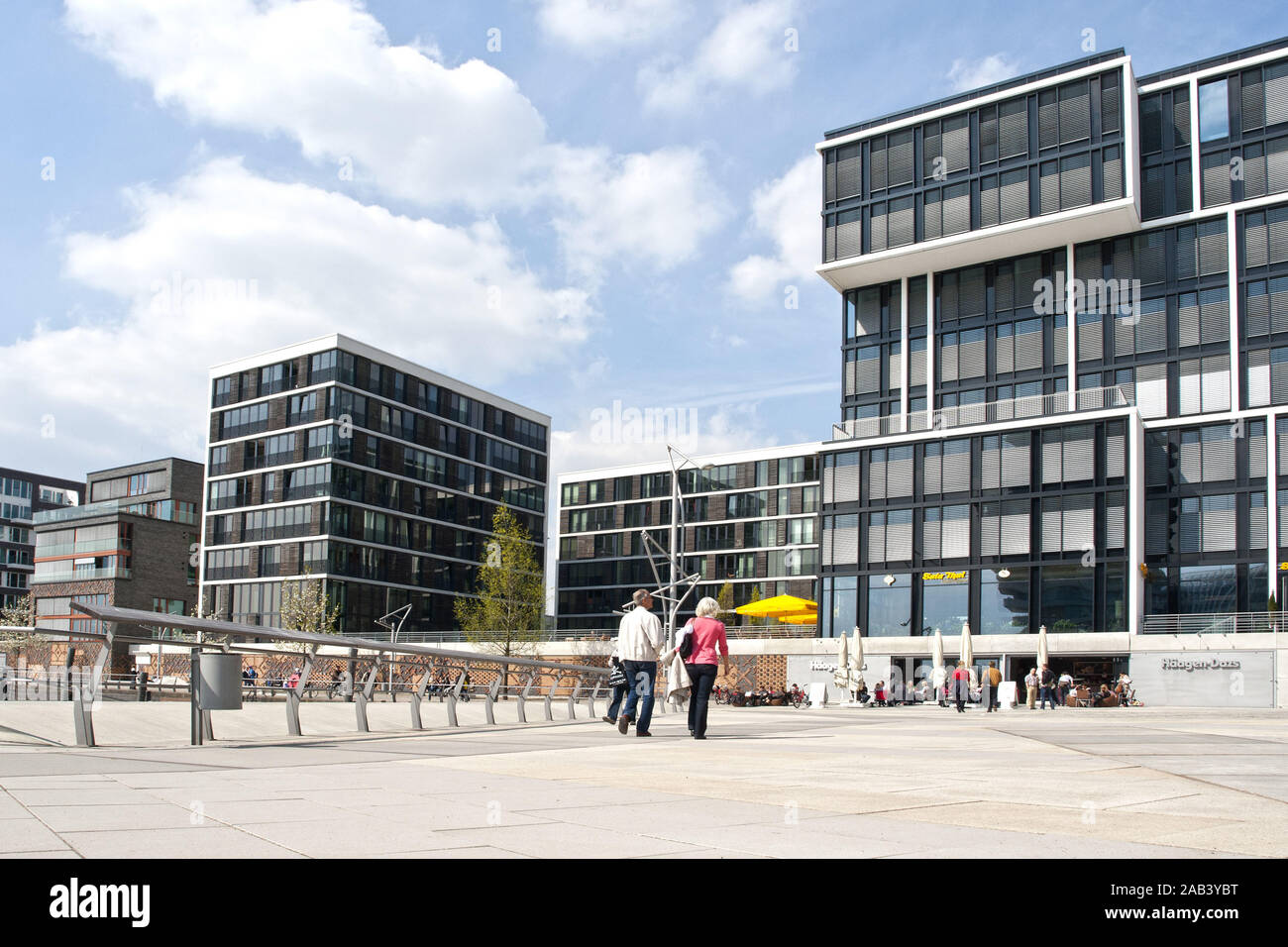 Hamburg Architektur Moderne Architektur In Der Hafencity In Hamburg |modern Architecture In The Hafencity In Hamburg| Stock Photo - Alamy