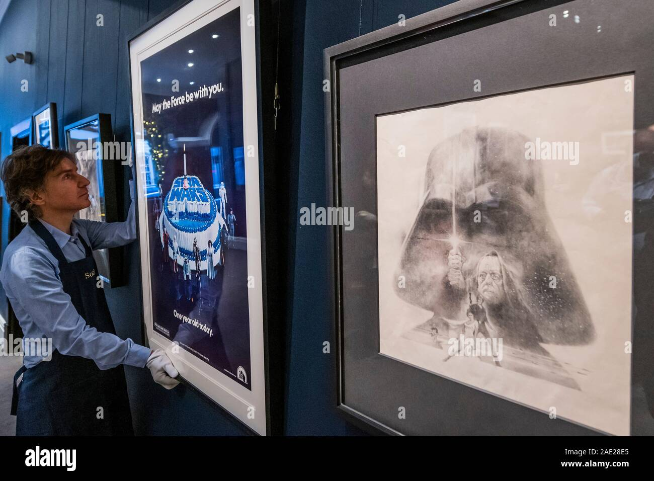 Original Concept Artwork By Tom Jung 1977 Est 15 20 000 Sotheby S Previews Its Star Wars Online Sale Which Takes Place Online Only Until 13 December In London Stock Photo Alamy