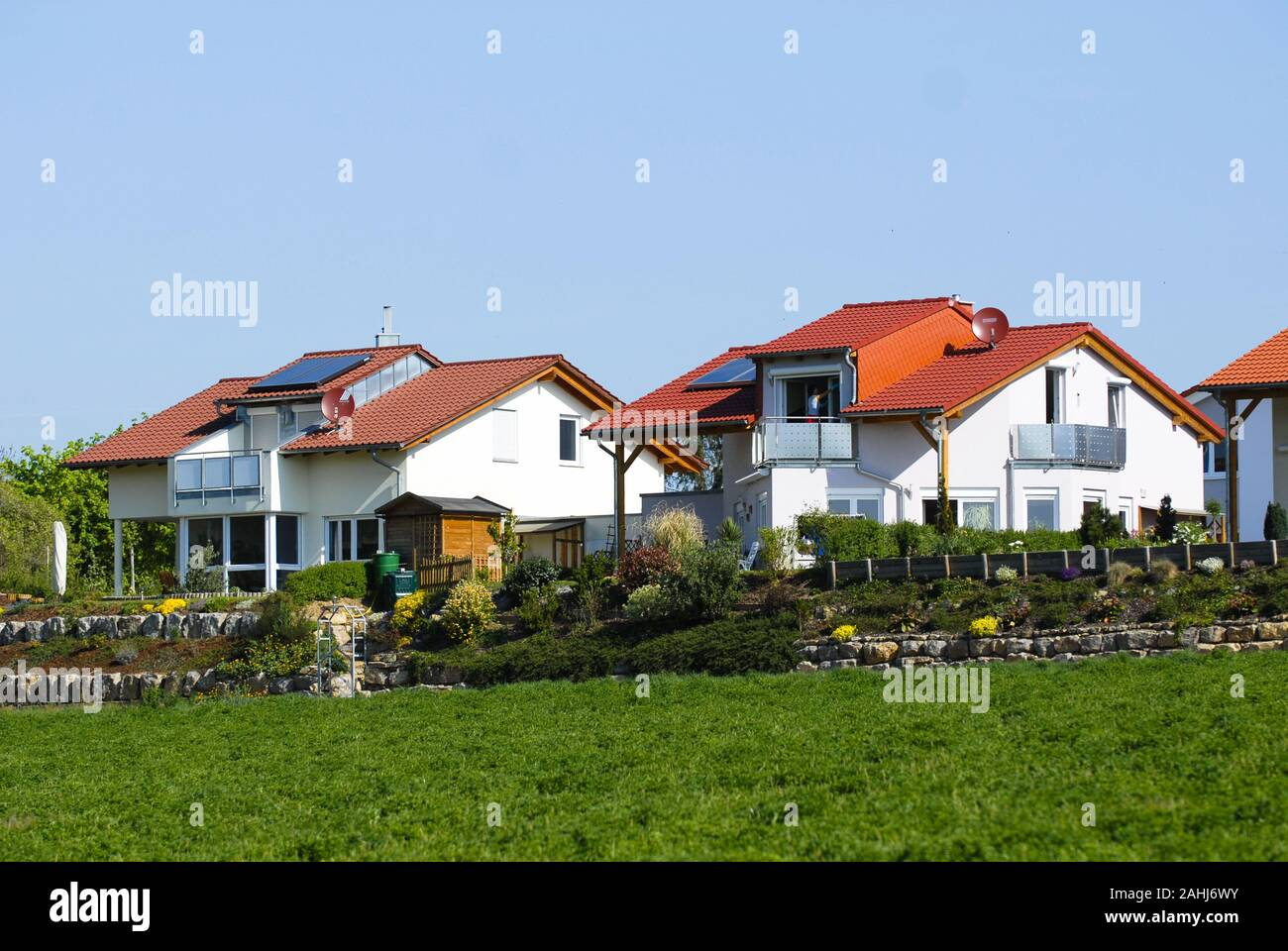 Einfamilienhaus Neubau Modern Einfamilienhaus Modern High Resolution Stock Photography And Images - Alamy
