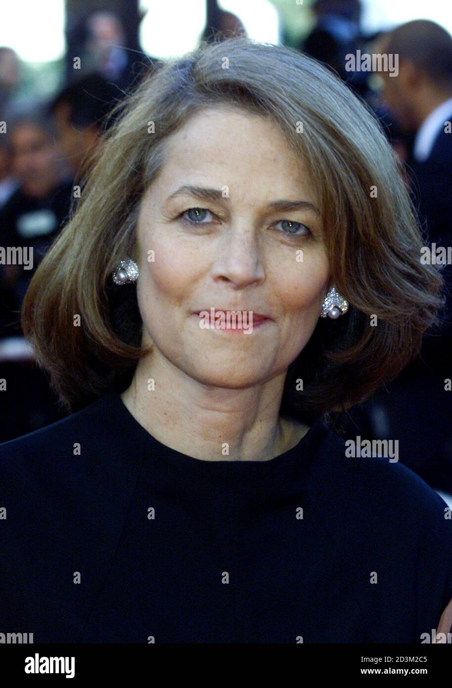 British Actress Charlotte Rampling Smiles During The Red Carpet Arrivals For French Director Francois Dupeyron S