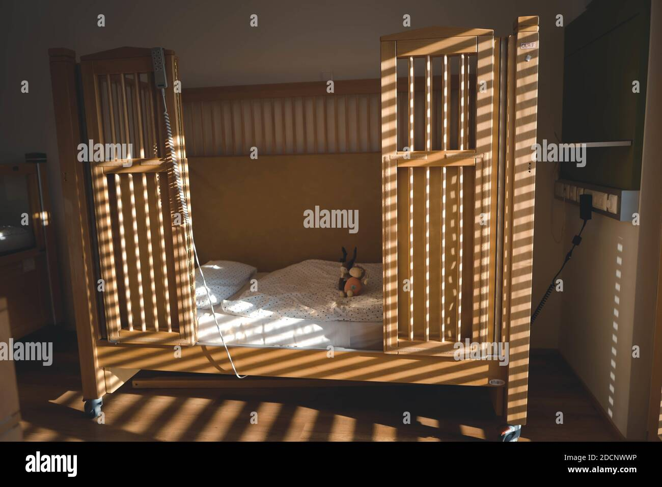 Page 2 Empty Wooden Baby Cot High Resolution Stock Photography And Images Alamy