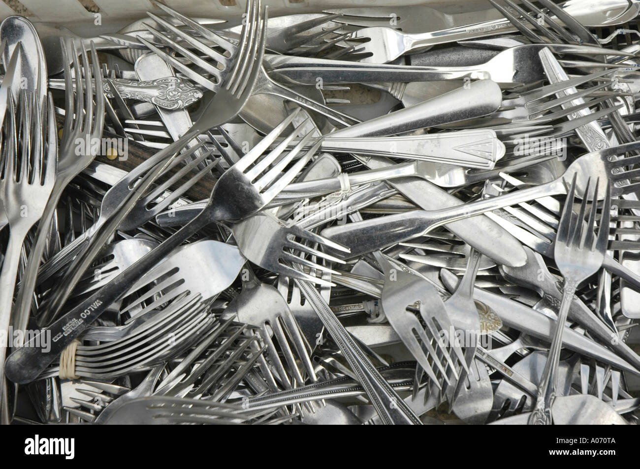 Used Flatware For Sale Used Silverware And Flatware For Sale At Flea Market And Tag Sale
