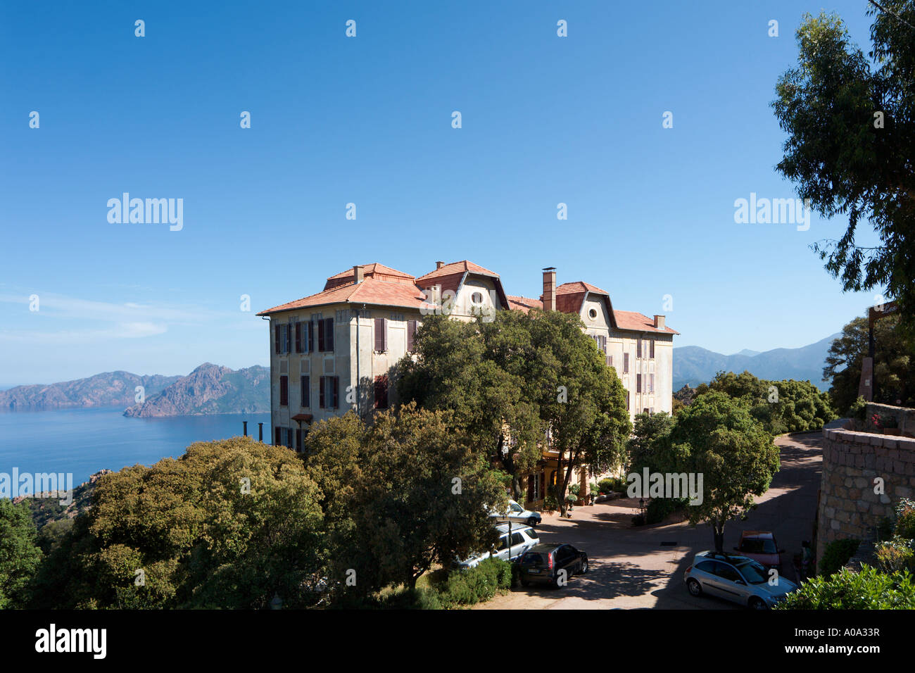 Hotel Des Roches Rouges Les Roches Rouges Hotel Piana Gulf Of Porto Corsica France