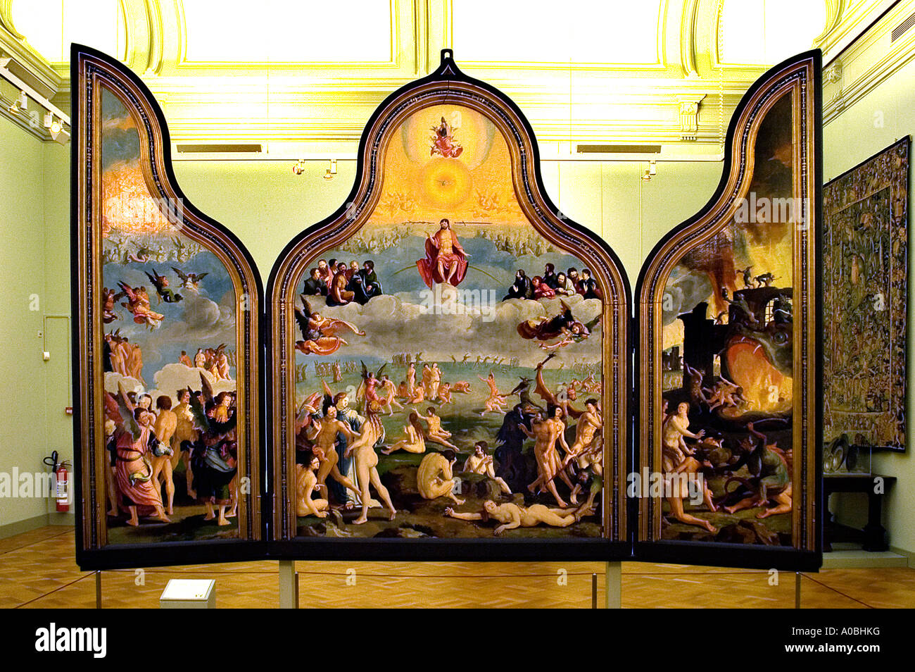 Lucas Van Leyden The Last Judgement By Lucas Van Leyden Leiden 1494 1533