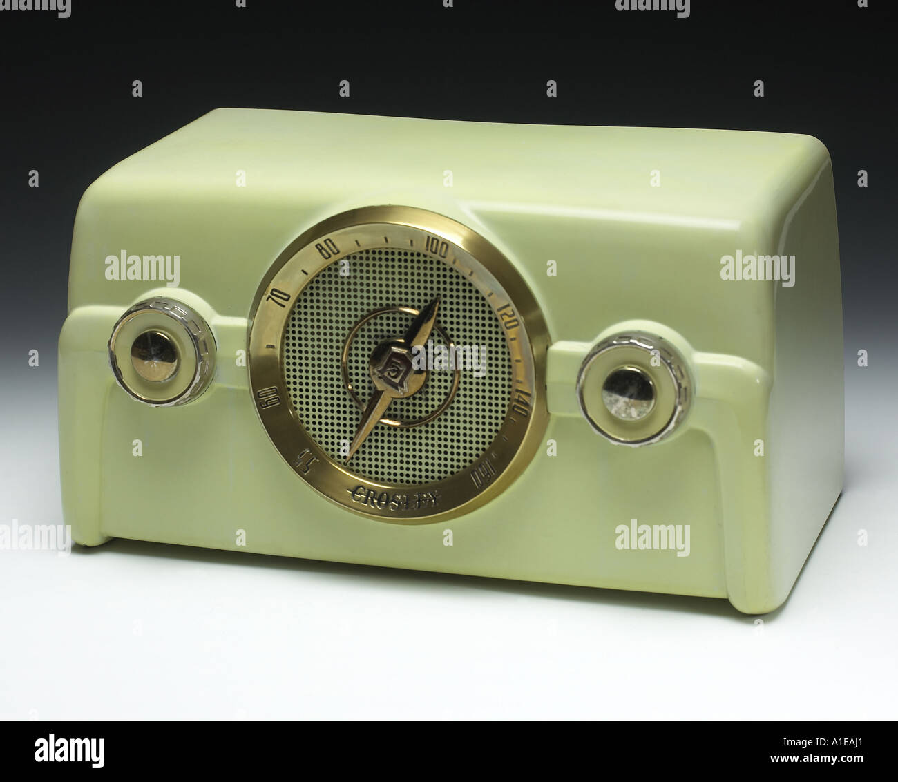 Crosley Radio Green Crosley Radio Stock Photo 5847456 Alamy