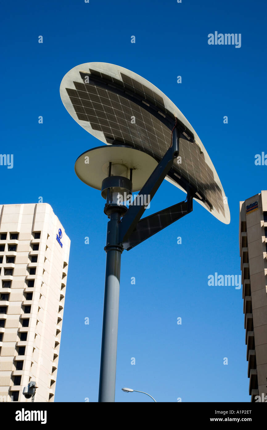 Solar Lights Australia Solar Powered Street Light Victoria Square Adelaide South