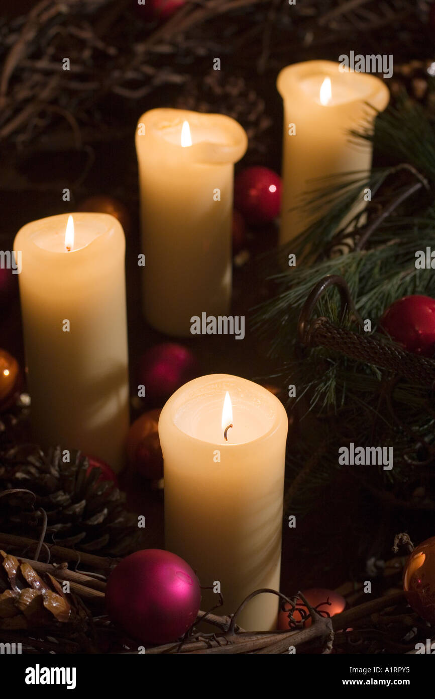 Kerzen Für Adventskranz Advent Adventskranz Kerzen Advent Wreath Candles Advent Crantz