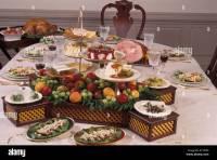 Buffet Style Table Setting & 70+ Elegant Wedding Table ...