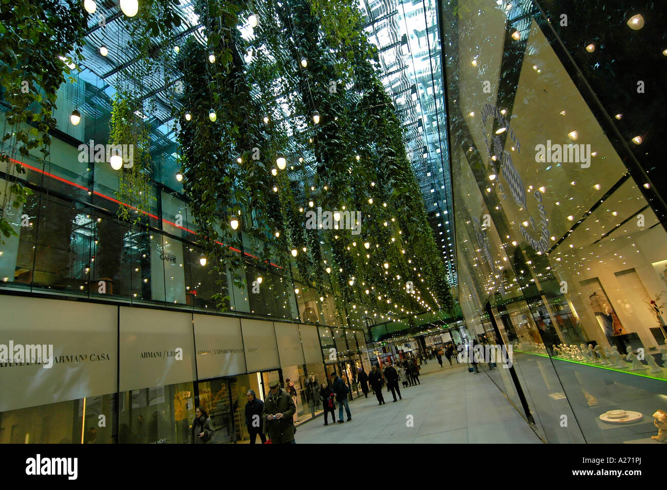Mall Munchen Funf Hofe Munich Stock Photos And Funf Hofe Munich Stock