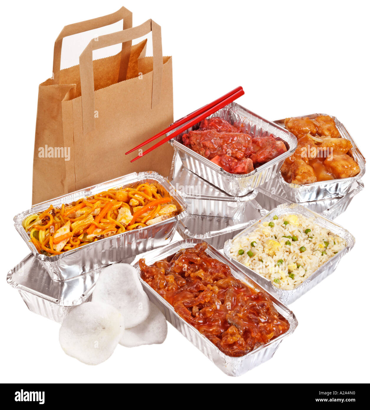 Chinese Takeaway Chinese Takeaway Cut Out Stock Photo 5975375 Alamy