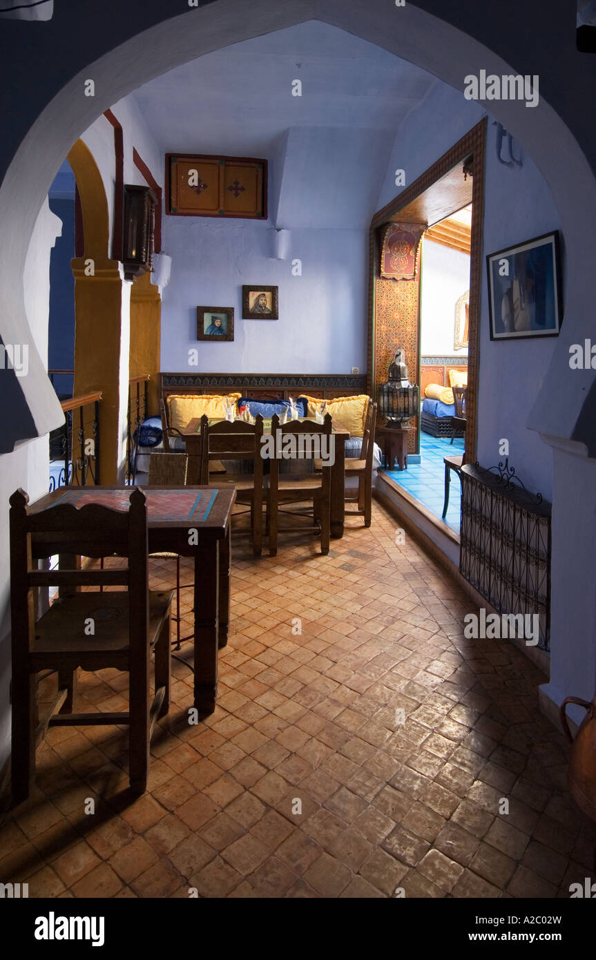 Dining Lounge Dining Lounge Area Of Casa Hassan Restored Traditional Moroccan