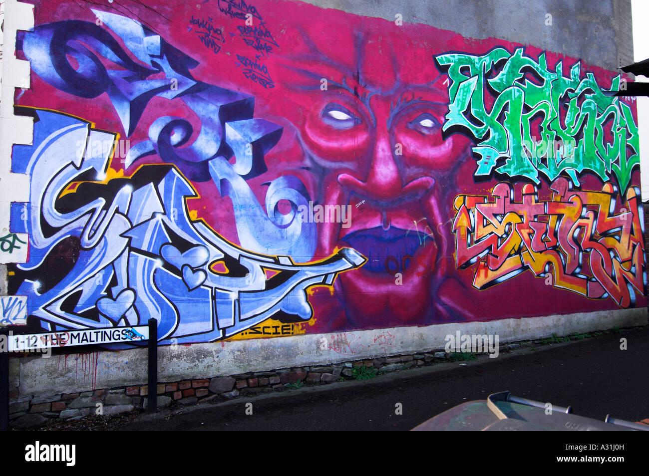 Graffiti wall art montpelier bristol uk