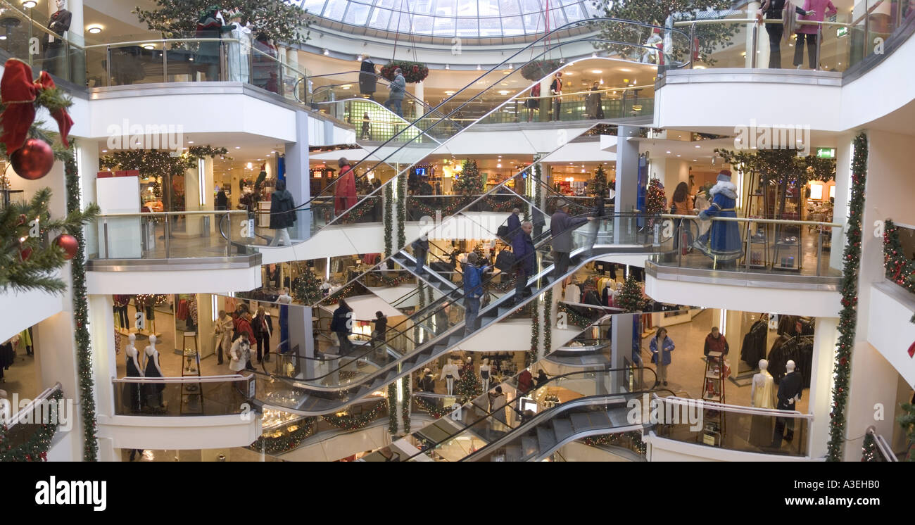 Mall Munchen Munich Shopping Mall Arcade Department Stock Photo
