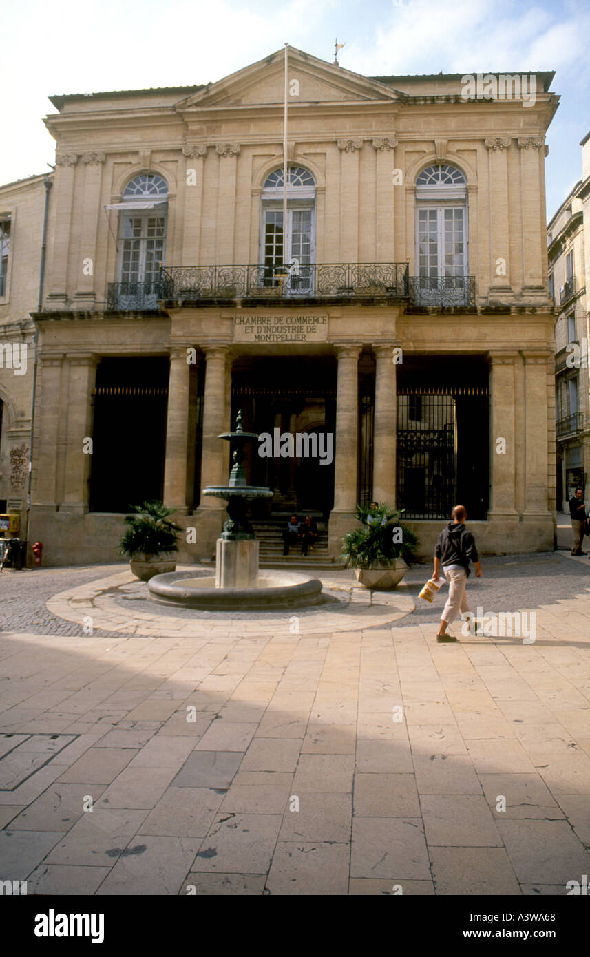 The Chamber Of Commerce And Industry In Montpellier Southern France Stock Photo Alamy