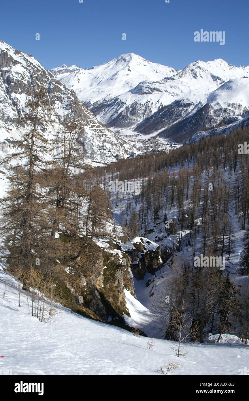 The Farmhouse Val D Isere Off Piste Val D Isere Stock Photos Off Piste Val D Isere Stock
