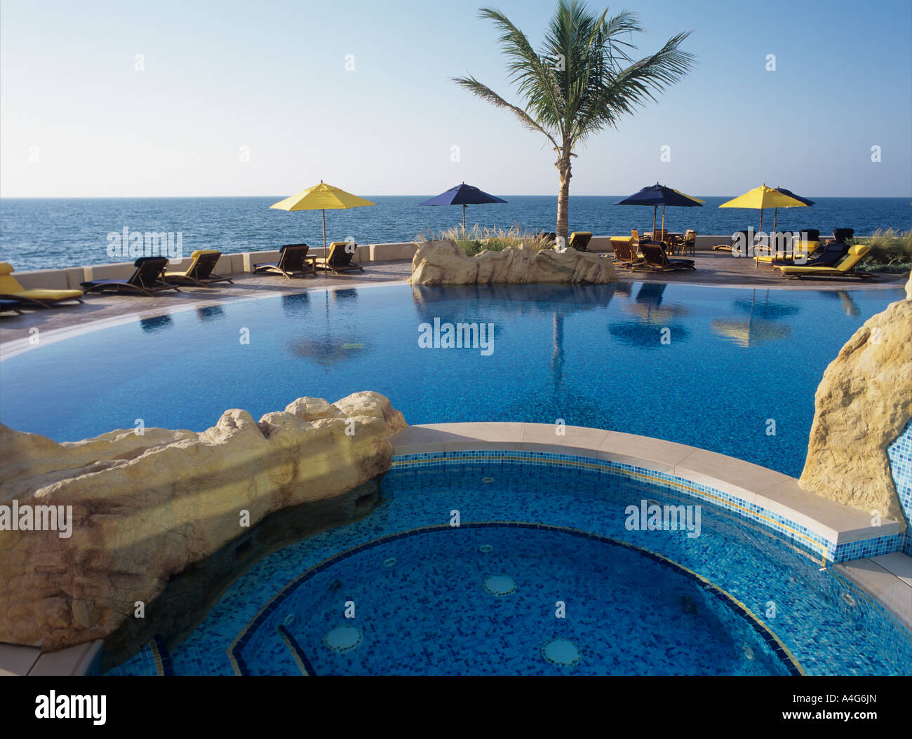 Pool And Jacuzzi Pool And Jacuzzi In Jumeirah Beach Resort And Burj Al Arab Dubai