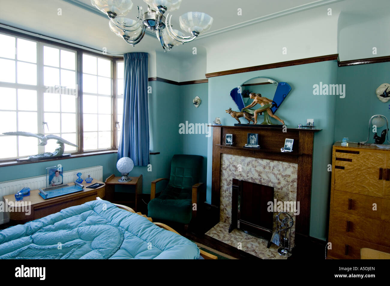 Art Deco Style Bedroom Refurbished Art Deco Art Nouveau 1930 S House Interior