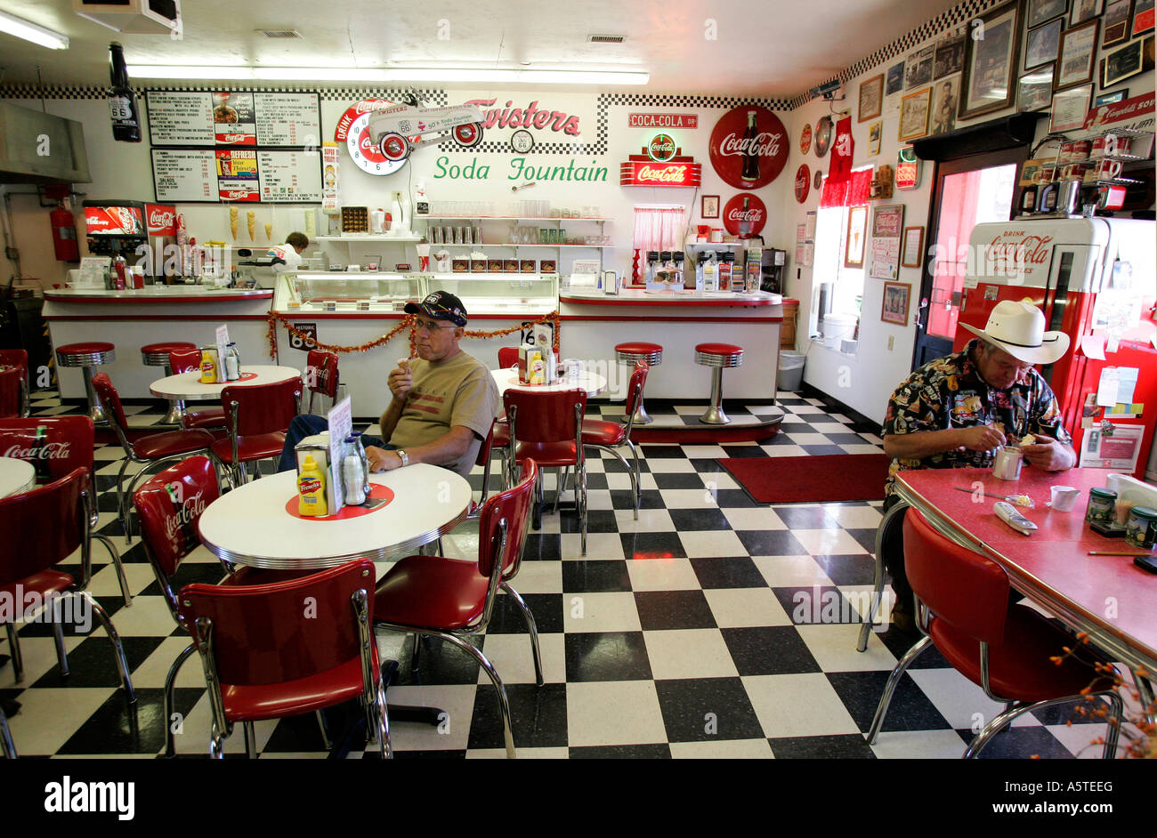 Amerikanische Küche 60er Us Williams Twisters A Diner In Fifties Style Along The